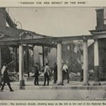 113. The National Bank destroyed by striking miners in Benoni in 1922 (MuseumAfrica)