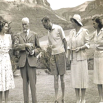 120.  Jan Smuts with the British royal family in 1947 (Central Archives)