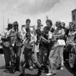 131. Lemmy Mabaso in Sophiatown (Jurgen Schadeberg)