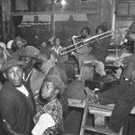 132.  One of the big bands in Sophiatown in the 1950s (Jurgen Schadeberg)