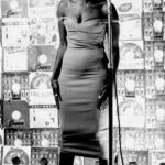 135. Miriam Makeba in a recording studio (Jurgen Schaderberg)