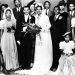 144. The wedding of Walter and Albertina Sisulu in  1944 (Eleanor Sisulu)