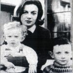 148.  Activist Norma Kitson and her two children (sourc e unknown)