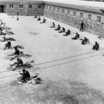 167.  Prisoners chipping stones (Getty Images)