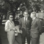 181. Activist Ruth First  with her husband SACP leader Joe Slovo (middle) in 1956 (MuseumAfrica)