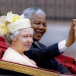 194. President Nelson Mandela with Queen Elizabeth in July 1996 (Gallo Images)