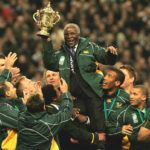 198. President Thabo Mbeki with the  Springboks in France in 2007  (Gallo Images)