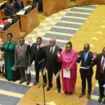 202.  Jacob Zuma and his Cabinet  in 2014  (University of the Western Cape)