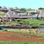 224. The controversial private rural homestead at Nkandla (Wikipedia)