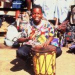 25. Young man celebrating at opening of Thulamela (Gail Nattrass)