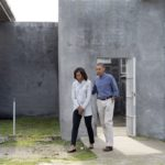 250. The Obamas on Robben Island in 2013 (Gallo Images)