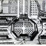 37.   Vergelegen as it really was in 1712 (Cape Archives)