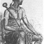 55.  Moshoeshoe in traditional clothes (Western Cape Archives  E3251)