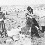 86.  Boer women doing their washing in the Bethuli Camp (National Archives Repository, Pretoria)