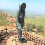 Kaalvoet vrou (barefoot woman) in the Drakensberg. Photograph by Karen Nattrass